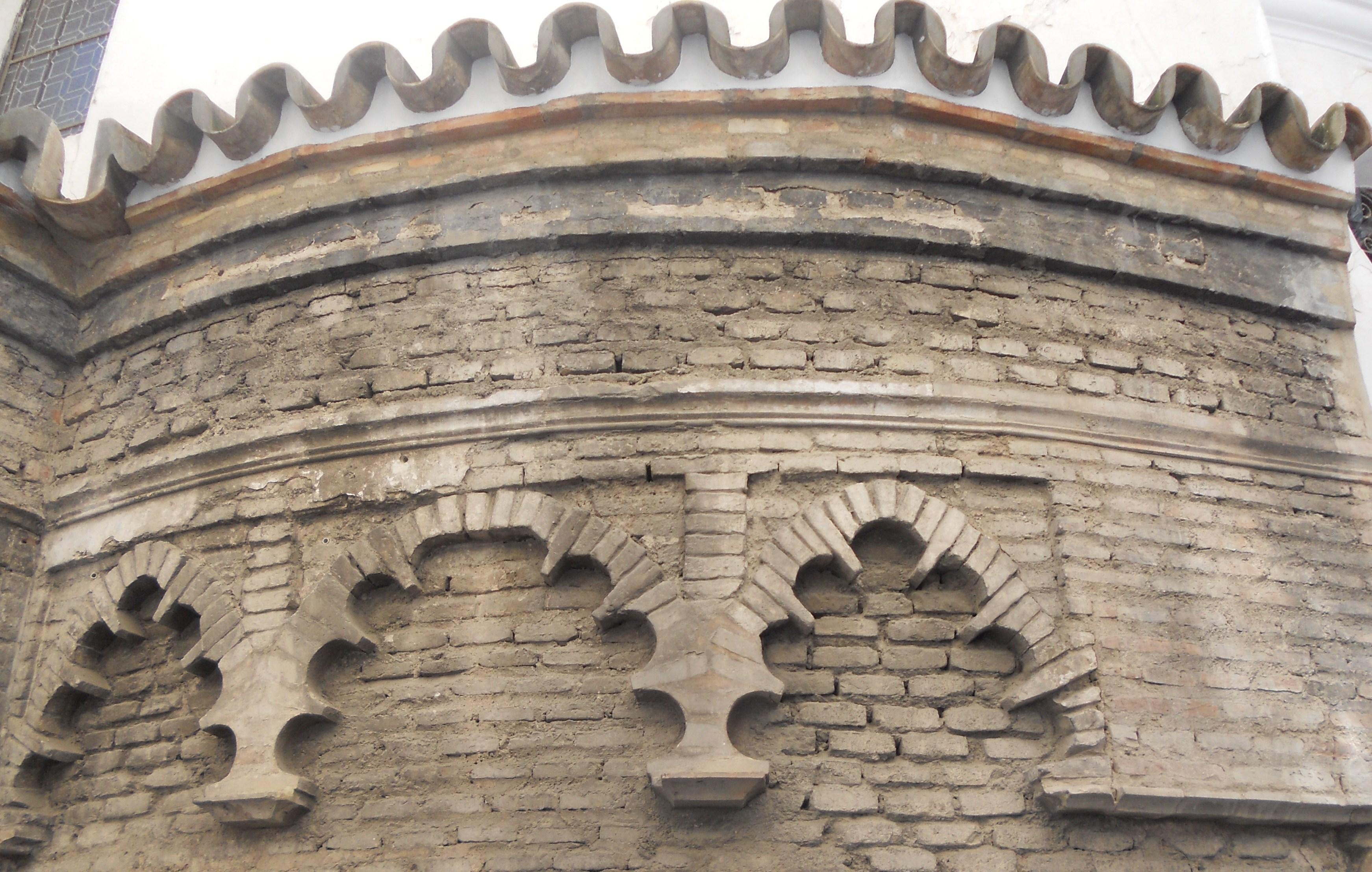 Resultado de imagen de Iglesia de Santa Catalina abside ventanal sevilla