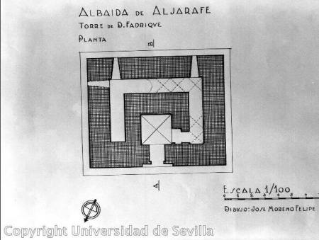 Planta torre de D. Fadrique