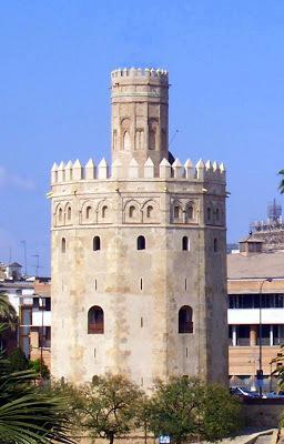 Asi seria torre ORO en siglo XIV