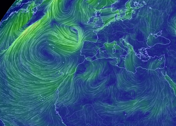 Mapas de viento