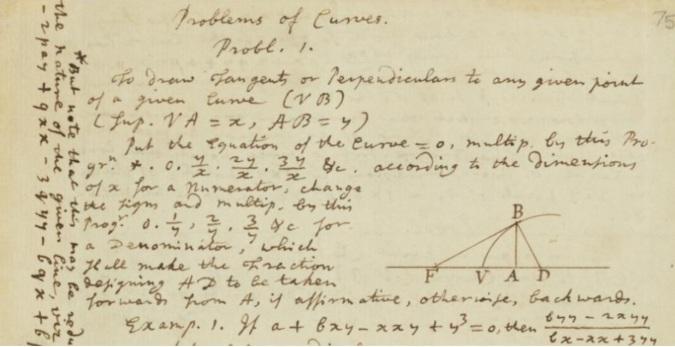 Problemas de curvas de Newton.