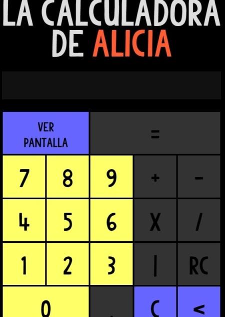 Calculadora alicia